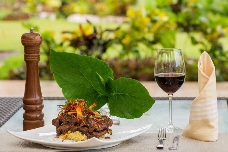Mexican food and wine at Zamá