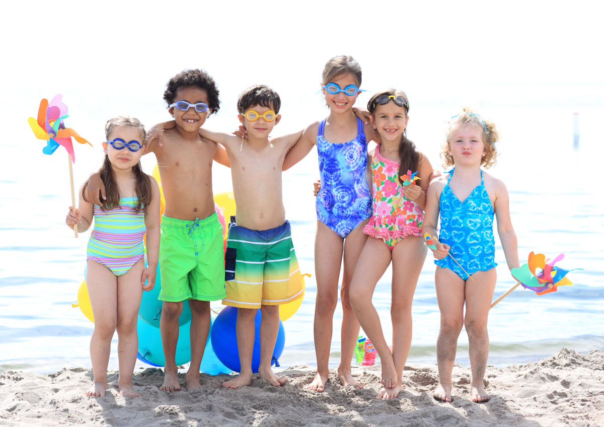 Summer fun for Viks very important kids