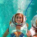 Underwater Oxygen Bar on Cozumel Island