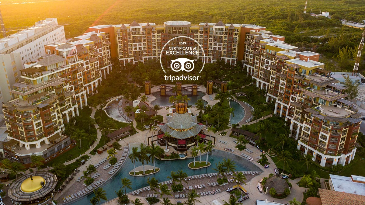 Villa del Palmar Cancun Earns TripAdvisor Certificate of Excellence in 2019