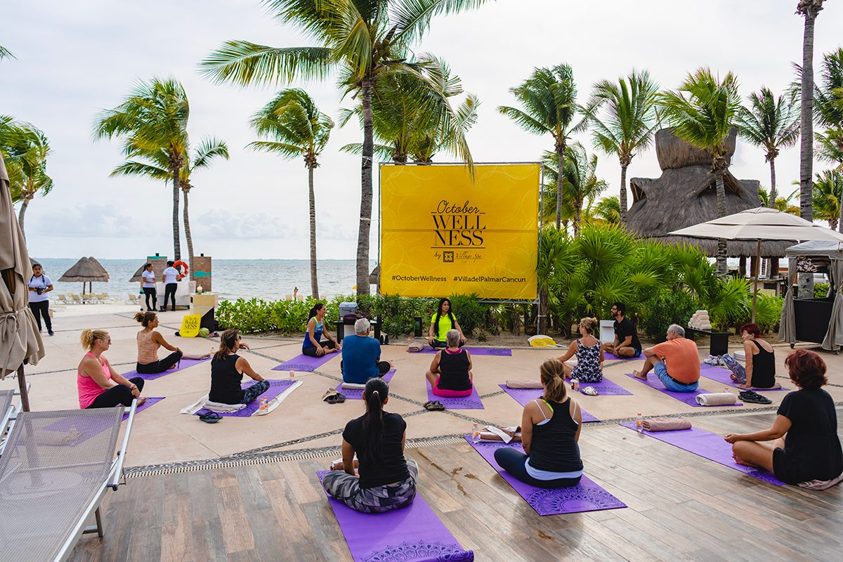 October Wellness 2020 en Villa del Palmar Cancún