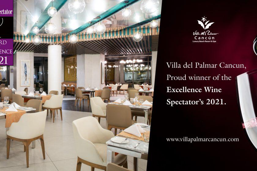 wine specttor award for davino